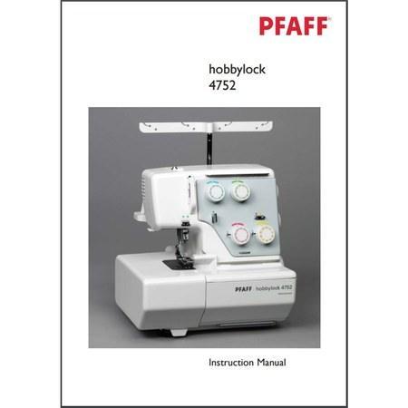 pfaff hobbylock 2.0 owners manual