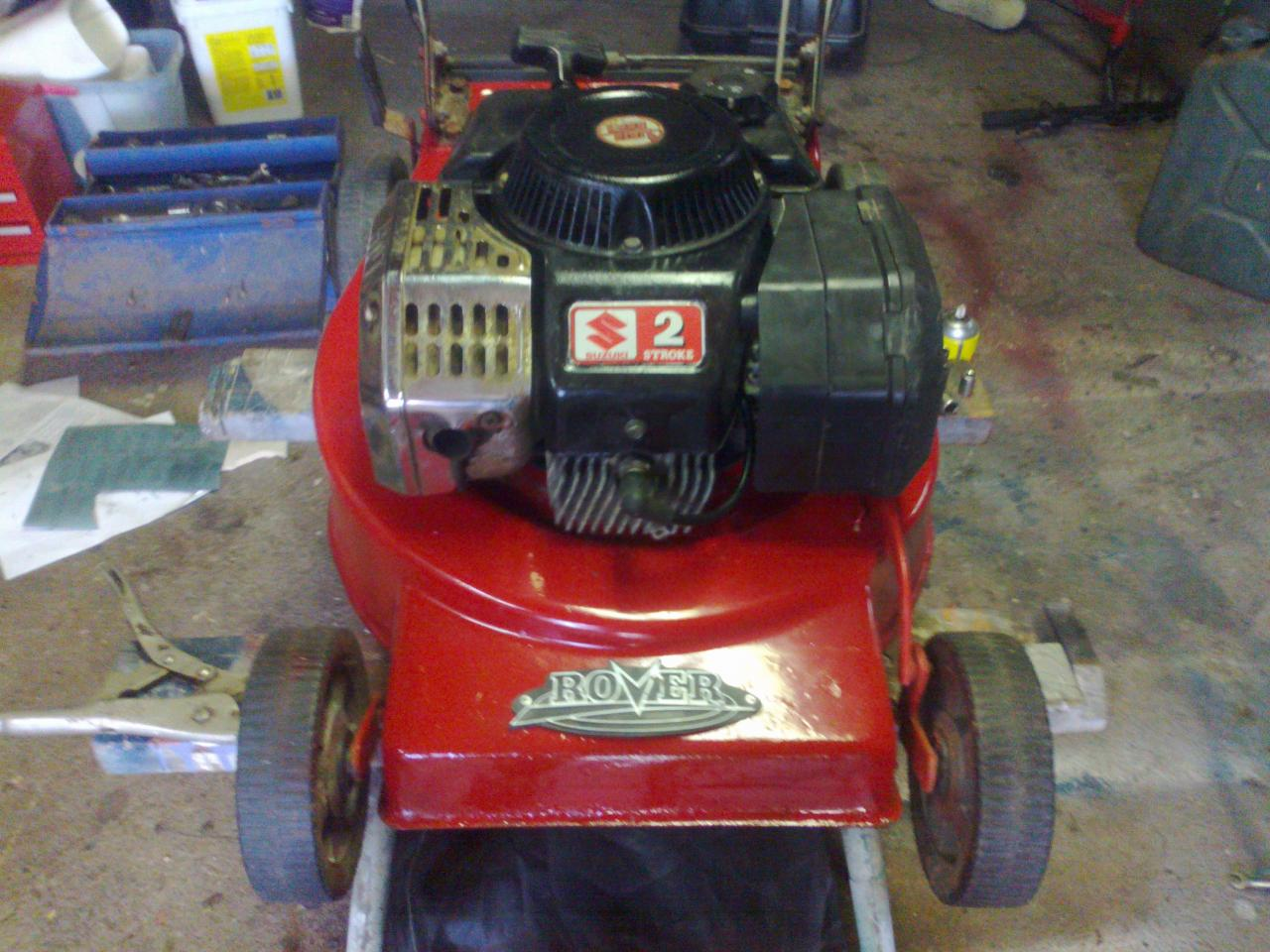 rover es200 lawn mower repair manual