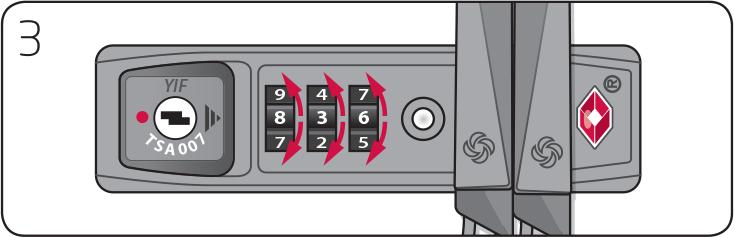 Tsa lock instructions american tourister
