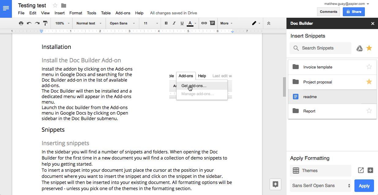 Upload document in google form